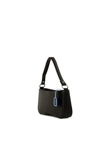 Bagmori  Kadın Kalıp Baget El Çantası M000006079 Siyah